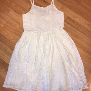Gymboree Eyelet Dress Size 8
